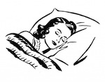 Sleeping-Lady-Retro-Image-GraphicsFairy-1024x806-1
